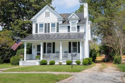 Chowan County Single Family Home For Sale: 212 W Queen Street
