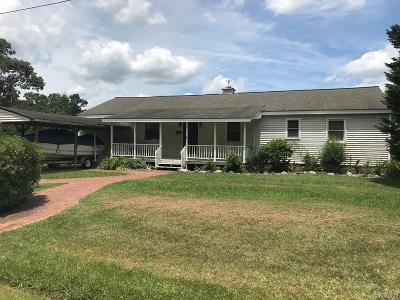 Perquimans County Single Family Home For Sale: 101 Huron Trail
