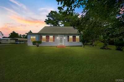 Perquimans County Single Family Home For Sale: 713 S Edenton Road Street