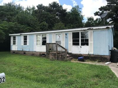 Camden County Single Family Home For Sale: 102 McCoy Road