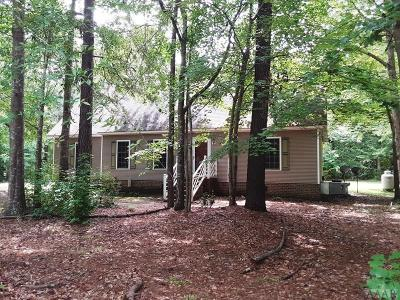 Camden County Single Family Home Under Contract: 117 Taylor-Leigh Drive