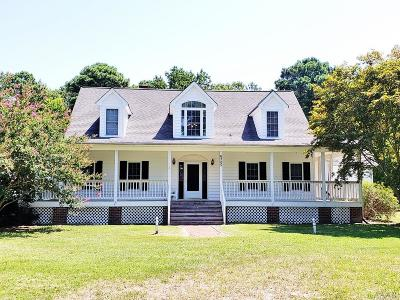 Currituck County Single Family Home For Sale: 6205 Caratoke Hwy
