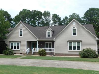 Hertford County Single Family Home For Sale: 400 Holly Hill Road