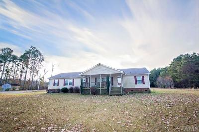 Perquimans County Single Family Home For Sale: 711 Deep Creek Road