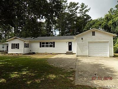 Chowan County Single Family Home For Sale: 124 Navaho Trail
