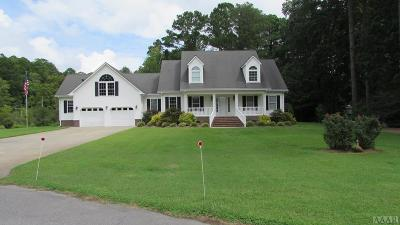 Pasquotank County Single Family Home For Sale: 1005 Small Drive