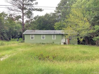 Chowan County Single Family Home For Sale: 110 Paradise Spur Road