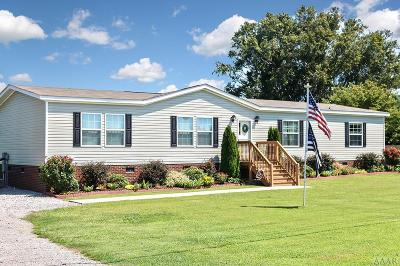 Currituck County Single Family Home Under Contract: 2659 Caratoke Hwy