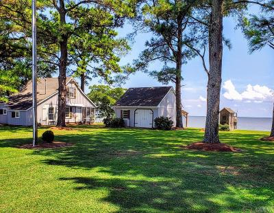 Perquimans County Single Family Home Under Contract: 122 Soundside Drive