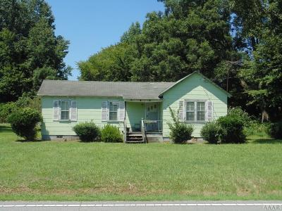 Hertford County Single Family Home For Sale: 715 Ahoskie Cofield Rd