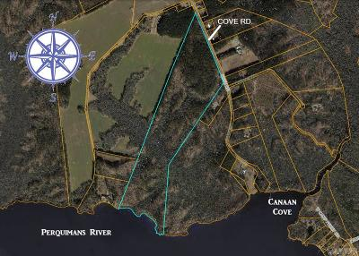 Perquimans County Land/Farm For Sale: Cove Road