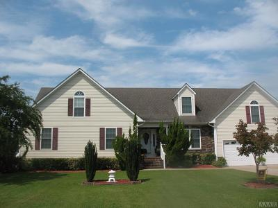 Pasquotank County Single Family Home For Sale: 103 Green Run Court