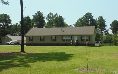 Hertford County Single Family Home For Sale: 629 Liverman Mill Rd