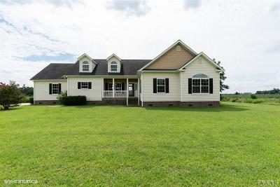 Perquimans County Single Family Home For Sale: 1836 N Ocean Hwy