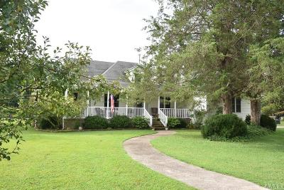 Gates County Single Family Home Under Contract: 39 Brinkley Road