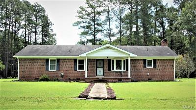 Chowan County Single Family Home For Sale: 117 Bayview Trail
