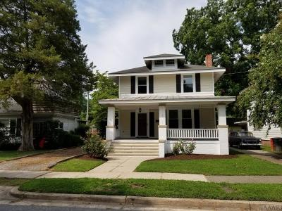 Pasquotank County Single Family Home For Sale: 904 W Colonial Avenue