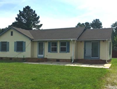 Pasquotank County Single Family Home For Sale: 700 Methodist Church Road