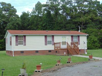Hertford County Single Family Home For Sale: 105-107 Rayfield Lane
