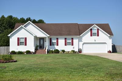 Pasquotank County Single Family Home For Sale: 112 Climbing Vine Run