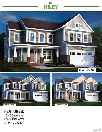 Moyock Single Family Home For Sale: 114 Homestead Lane #8