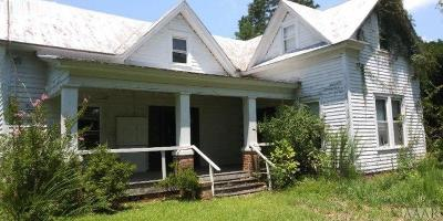 Hertford County Single Family Home For Sale: 316 Bonner Bridge Road