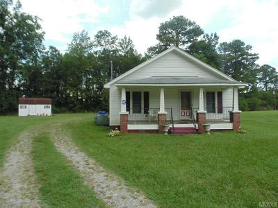 Hertford County Single Family Home For Sale: 116 Ahoskie Cofield Rd