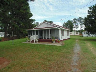Hertford County Single Family Home For Sale: 112 Ahoskie Cofield Rd