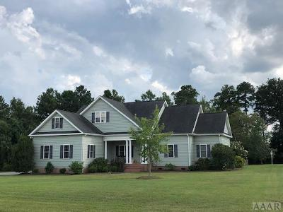 Chowan County Single Family Home For Sale: 172 Schooner Landing Drive