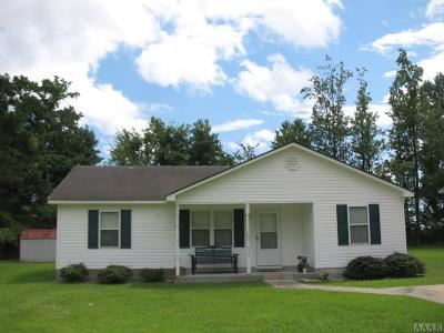 Pasquotank County Single Family Home For Sale: 810 Briarwood Road