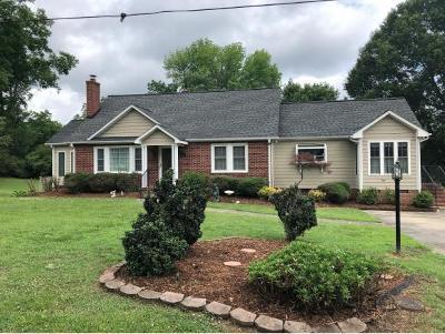 Burlington Single Family Home For Sale: 1701 Brown Ave