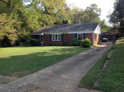 Shelby Single Family Home For Sale: 735 Sumter St. (West)