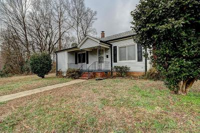 Cherryville Single Family Home For Sale: 206 Bates Avenue