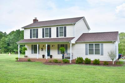 Shelby Single Family Home For Sale: 1153-B County Home Road