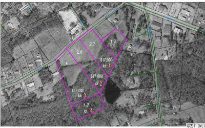Anson County Residential Lots & Land For Sale: 2.7 Burns Street