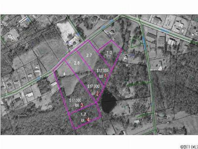 Anson County Residential Lots & Land For Sale: 2.8 Burns Street