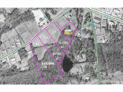 Anson County Residential Lots & Land For Sale: 5.7 Burns Street