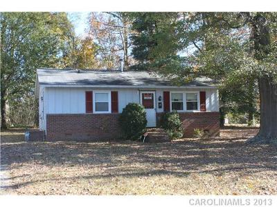 Mount Holly NC Single Family Home Closed: $52,500