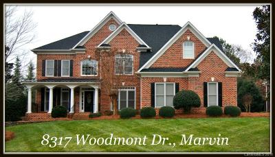 Waxhaw NC Single Family Home Sold: $524,900