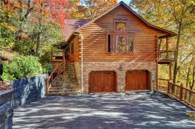 Maggie Valley Single Family Home For Sale: 382 Walela Trail #65A
