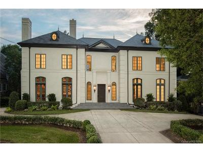 Myers Park Single Family Home For Sale: 1454 Queens Road W