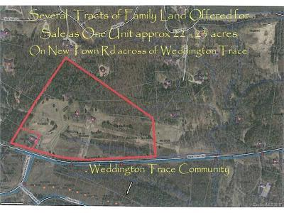 Weddington Residential Lots & Land For Sale: 22.63 New Town Road #7 indepe