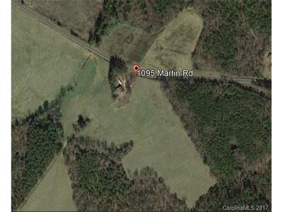 Anson County Residential Lots & Land For Sale: 1095 Martin Road #6437