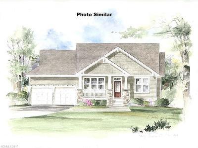 Hendersonville Single Family Home For Sale: 103 Gossamer Court #Lot 18