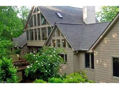 Brevard Single Family Home For Sale: 221 Ohwanteska Lane #17A/04