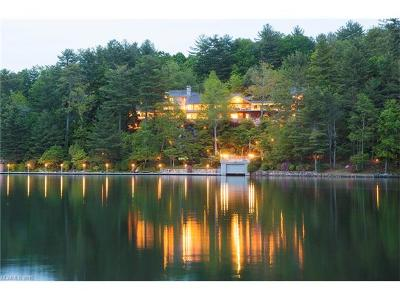 Lake Toxaway Single Family Home For Sale: 163 S East Shore Drive #84R
