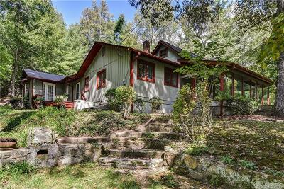 Hendersonville Single Family Home Under Contract-Show: 1114 Crab Creek Road