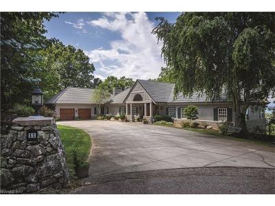Asheville Single Family Home For Sale: 11 Trailridge Road