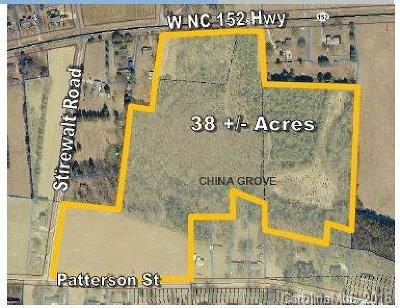 China Grove Residential Lots & Land For Sale: W Nc 152 Highway