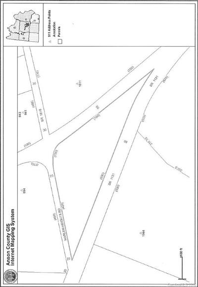 Anson County Residential Lots & Land For Sale: 1725 Morven Road